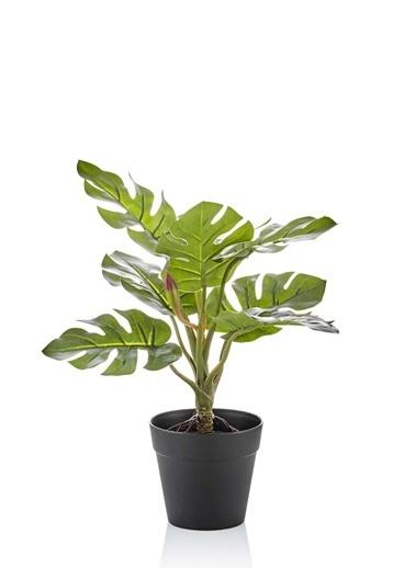 The Mia Yapay Çiçek 25 Cm Saksılı Yeşil